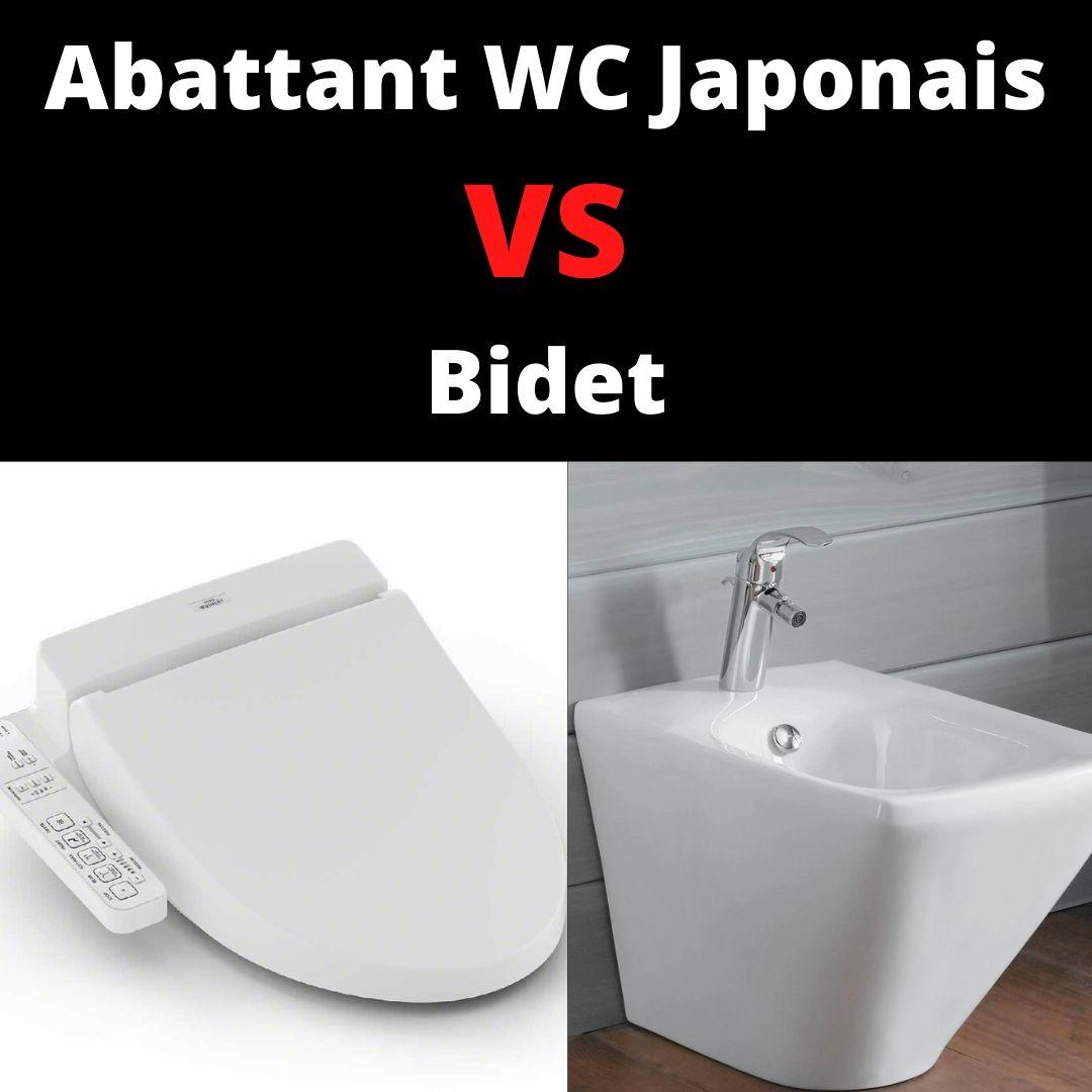 abattant wc japonais vs bidet